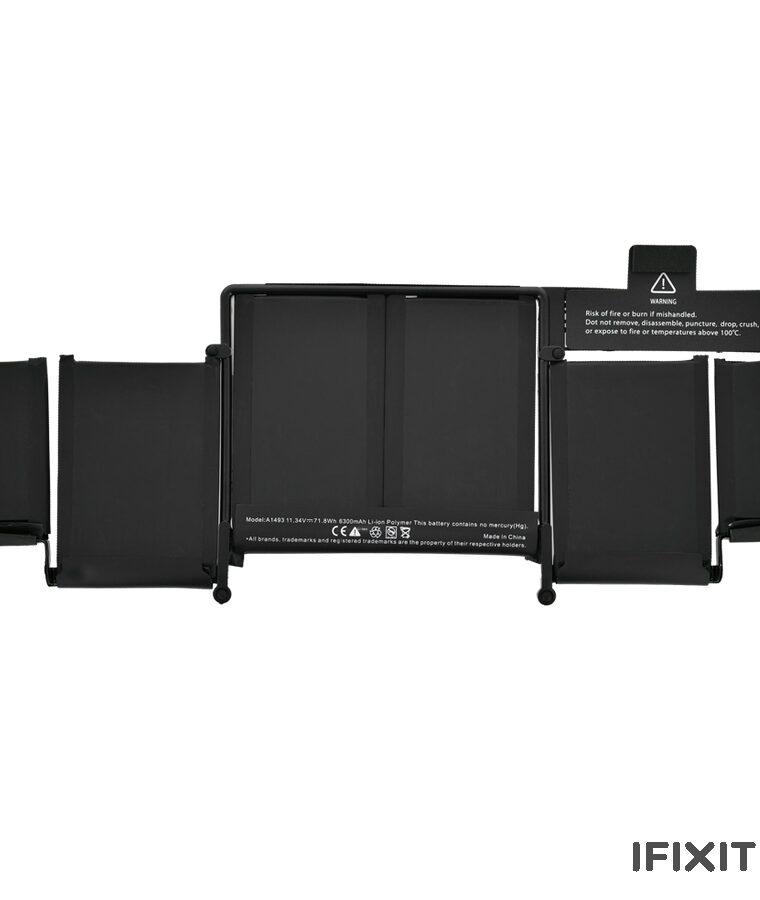 باتری مک بوک پرو ۱۳ اینچ ۲۰۱۳ - ۲۰۱۴ مدل A1502 - مدل باتری A1493