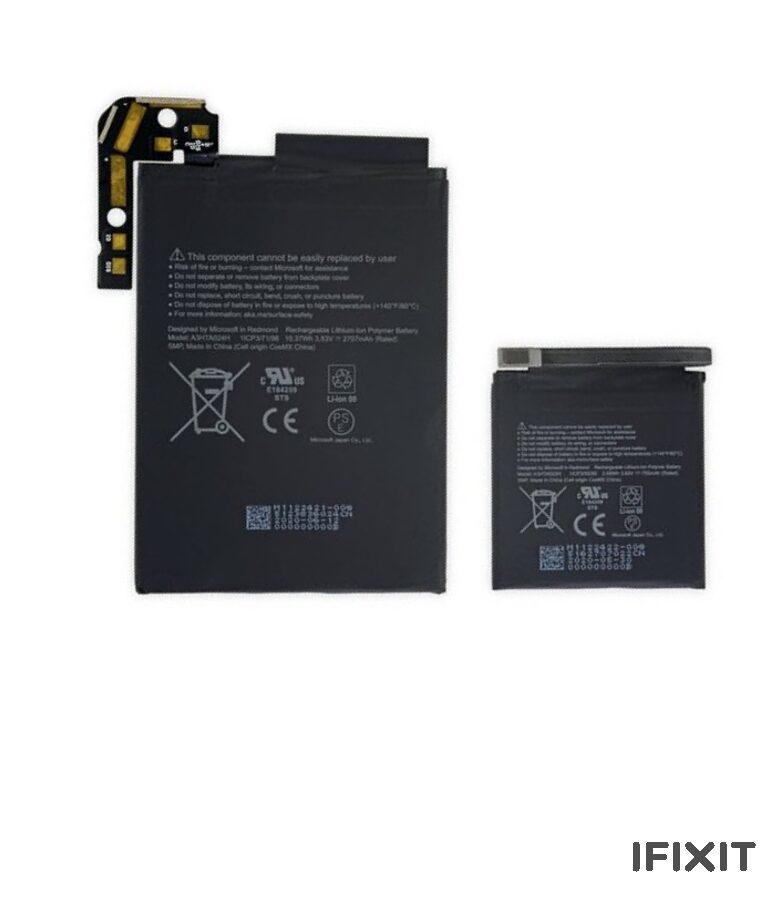 باتری duo مدل (surface duo battery)